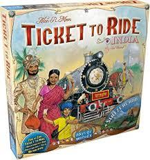 Ticket to Ride India/Switzerland