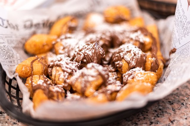 Nutella Zeppole