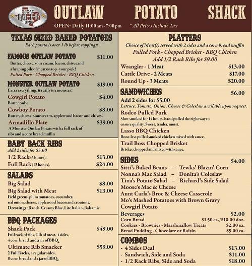 Outlaw Potato Shack (Greece)