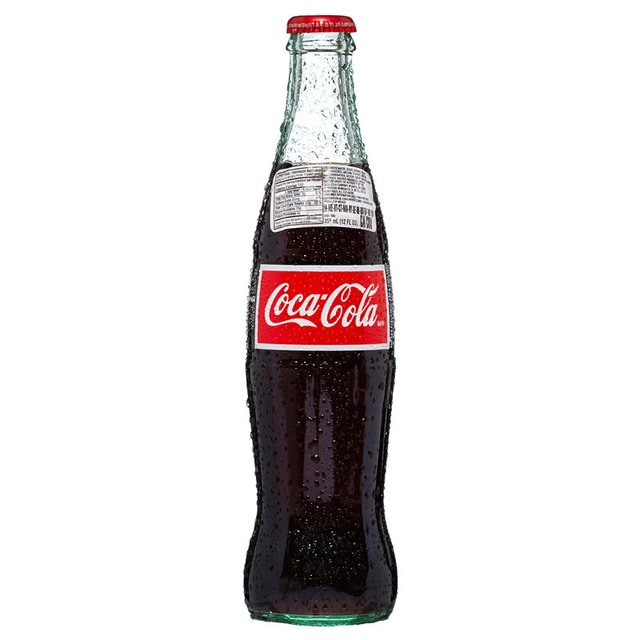 Mexican Coca Cola Glass Bottle
