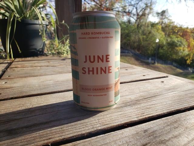 June Shine Hard Kombucha - Blood Orange Mint