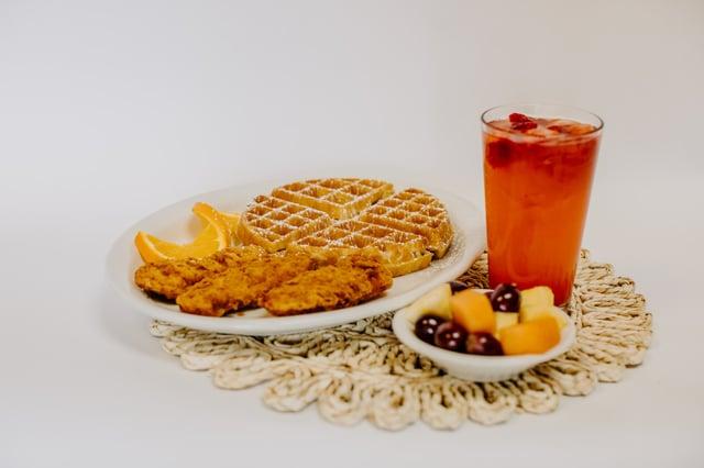 Belgium Waffle & Chicken Tenders