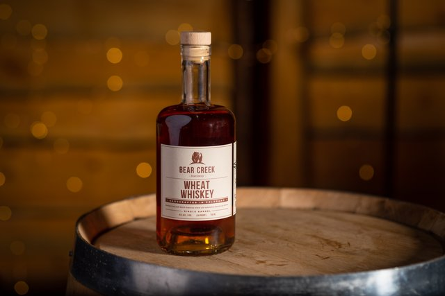 Wheat Whiskey - Bear Creek Distillery