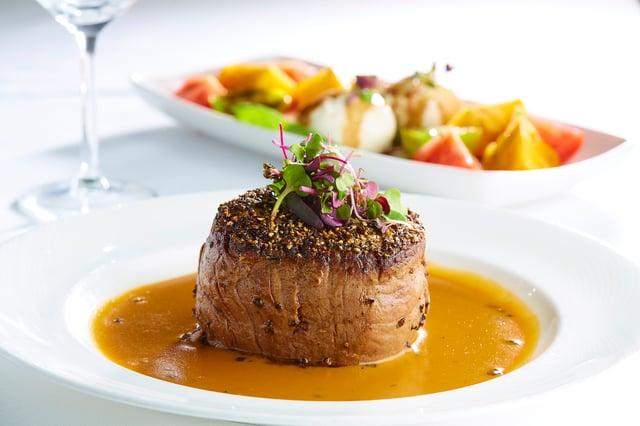 Signature Prime Pepper Steak Filet