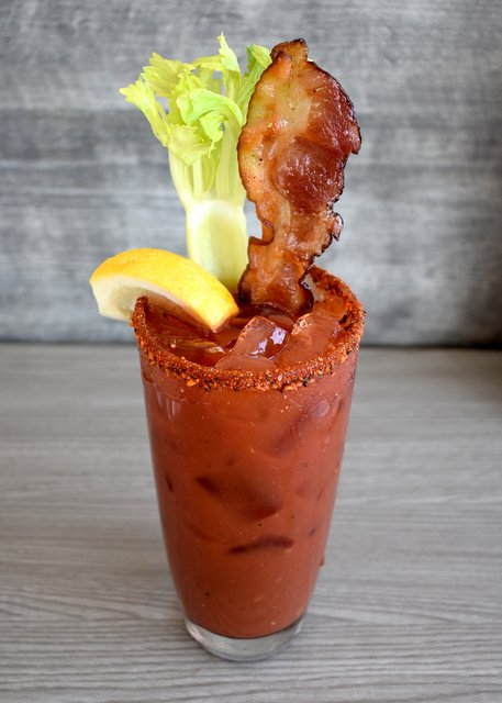 Black Pepper + Bacon Bloody Mary