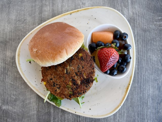 THE ULTIMATE BLACK BEAN VEGGIE BURGER