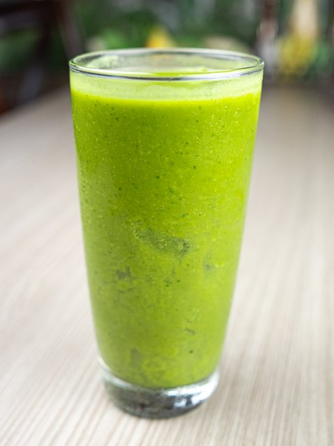 SUPER GREEN!