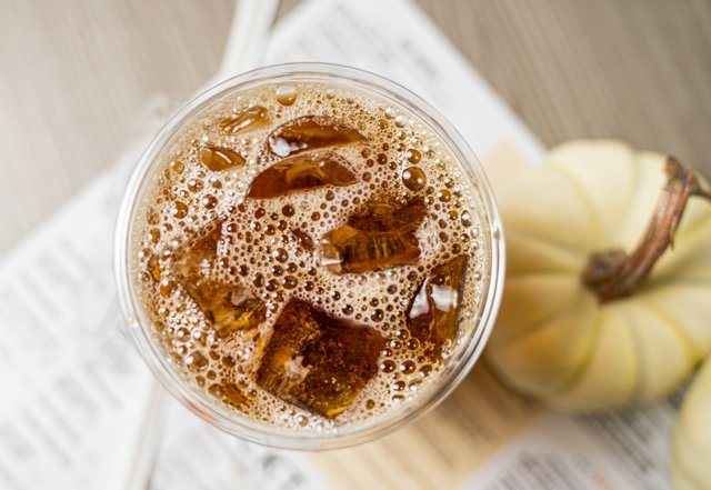 SEASONAL: PUMPKIN COLD BREW w/CREAM