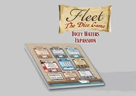 Fleet: The Dice Game- Dicey Waters Expansion